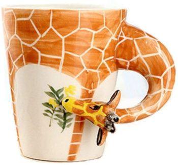 Giraffe Ceramic Coffee Mug