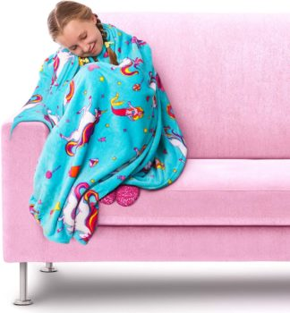 Girl Zone Comfort Fleece Blanket