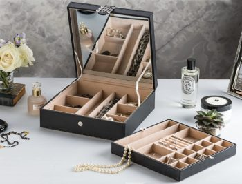 Glenor Co 28 Section Jewelry Box