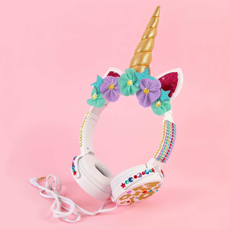 10. GoldieBlox DIY Unicorn Headphones