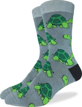 Good Luck Sock Men's Turtle Crew Socks