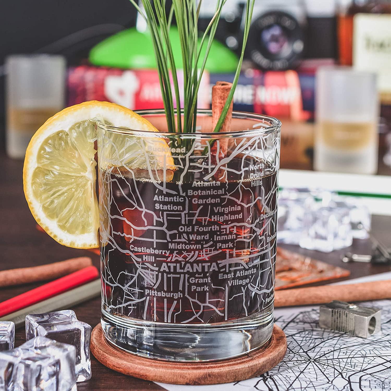 6. Greenline Goods Whiskey Glasses