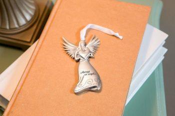 Guardian Angel Medallion Ornament