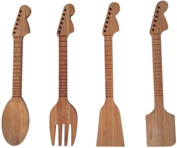 Guitar neck utensils