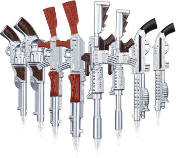 Gun Shaped Ballpoint Pens