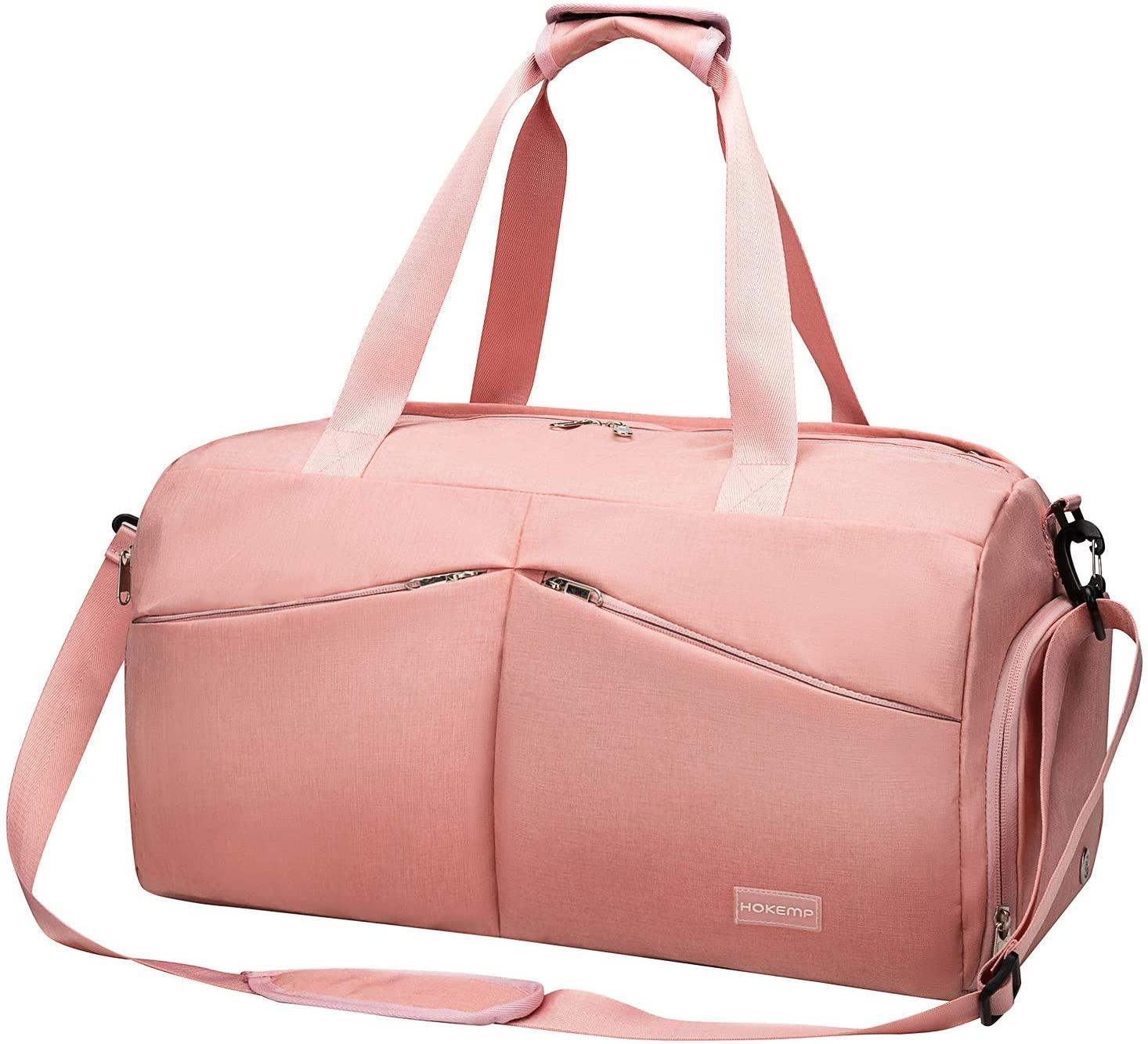 9. HOKEMP Sports Gym Bag Travel Duffel