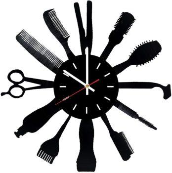 Haircut Wall Clock