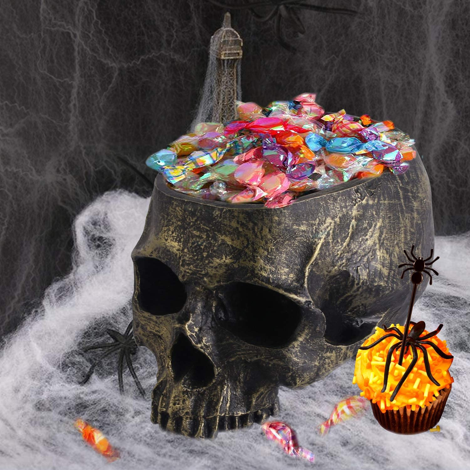 Halloween Skeleton Candy Stand Bowl