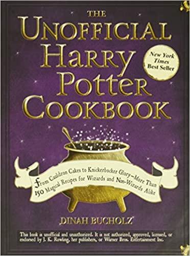 1. Harry Potter Cookbook