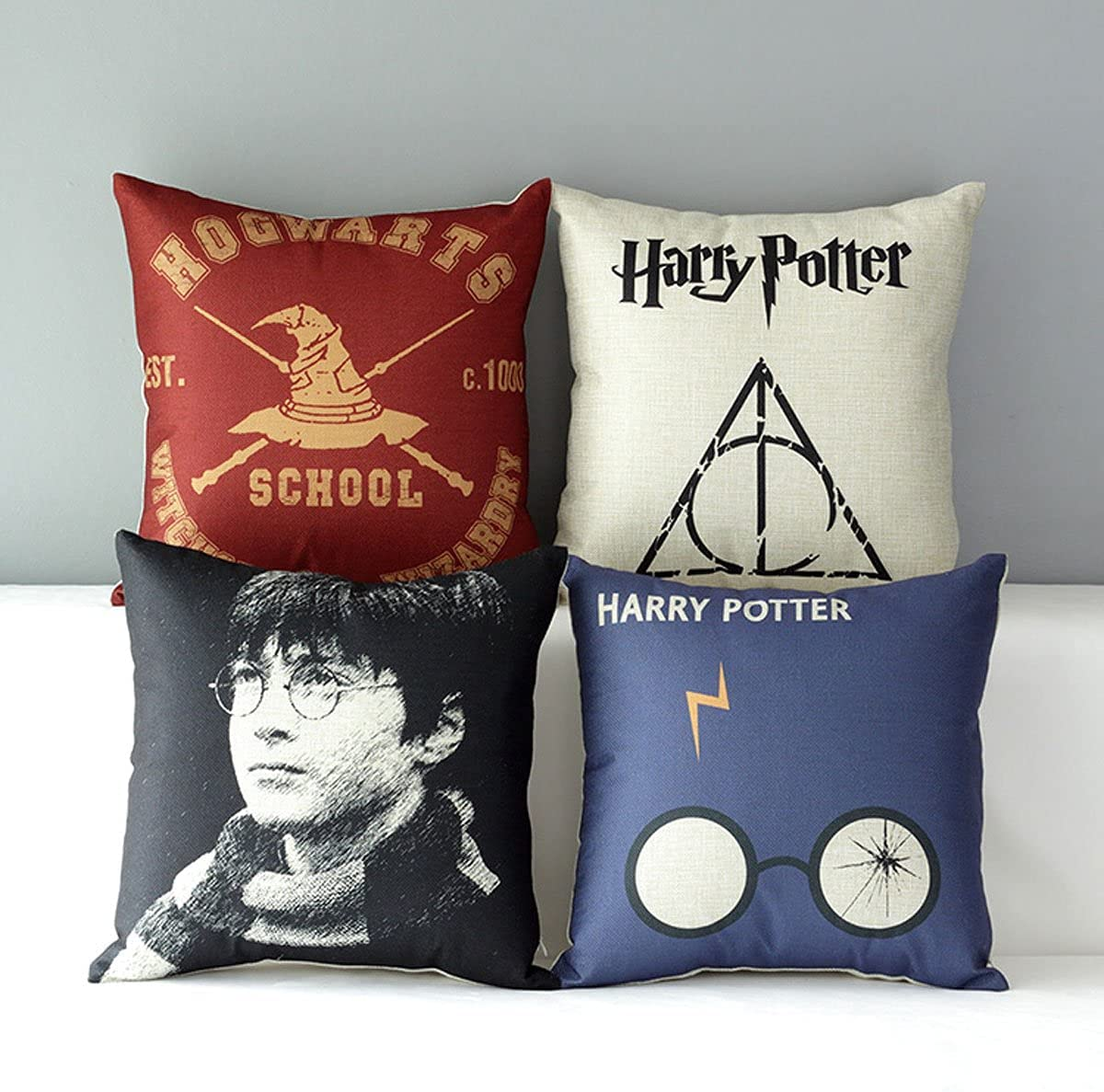 5. Harry Potter Pillow Set