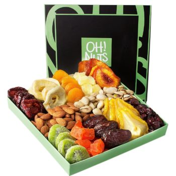 Holiday Nut and Dried Fruit Basket
