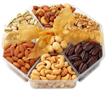 Holiday Nuts Food Basket