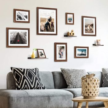 Homemaxs Picture Frames Collage Set