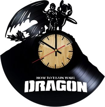 How to Train Your Dragon – Wall Clock
