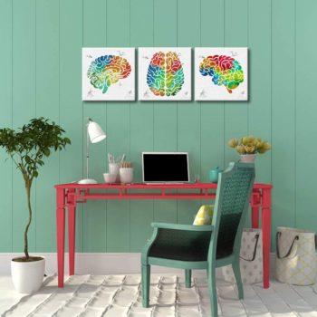 Human Brain Art Prints
