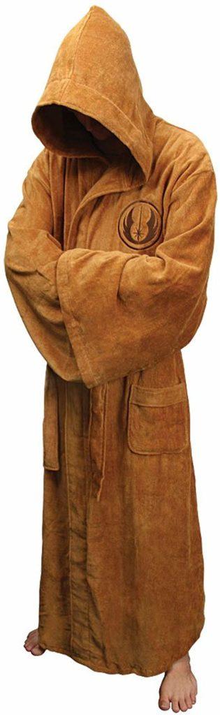 10. Jedi Fleece Bathrobe