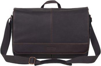 Kenneth Cola Reaction Leather Laptop Bag