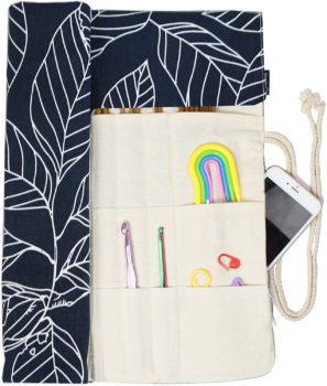 Knitting Needles Holder Case Rolling