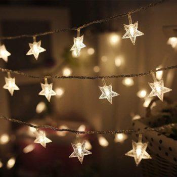 LED star light string