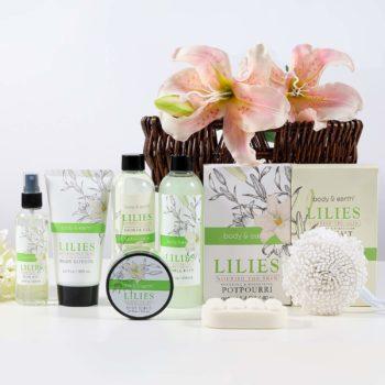 Ladies gift basket 10-piece set