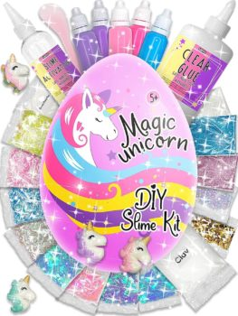 Laevo Surprise Magical Slime Kit for Girls