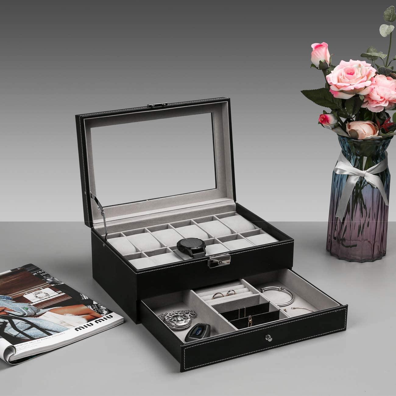 3. Leather Watch Box
