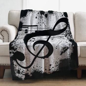 Levens Music Print Blanket