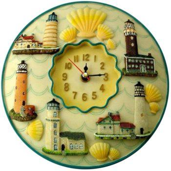 Lighthouses Clock