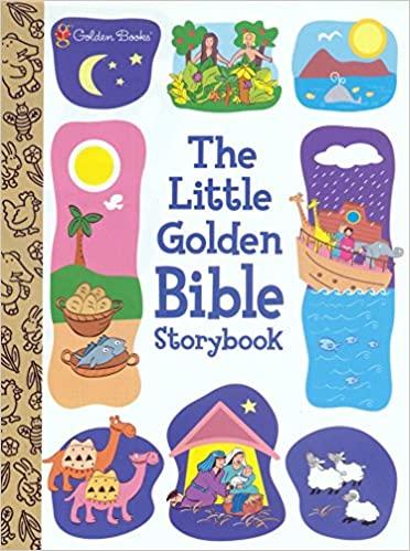 4. Little Golden Children's Bible