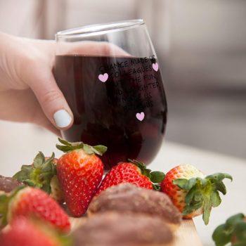 Lovely wine glass