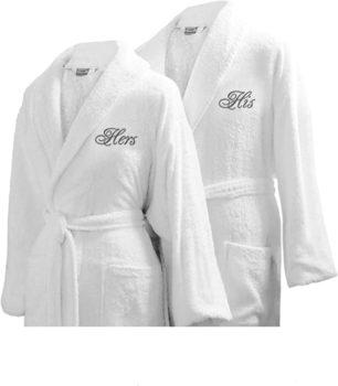 Luxor Linens Couple's Terry Cloth
