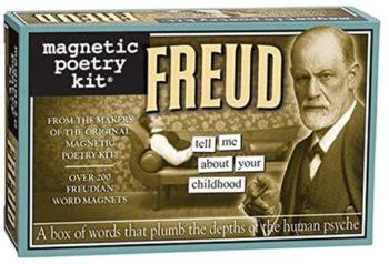 Magnetic Poetry - Freud Kit