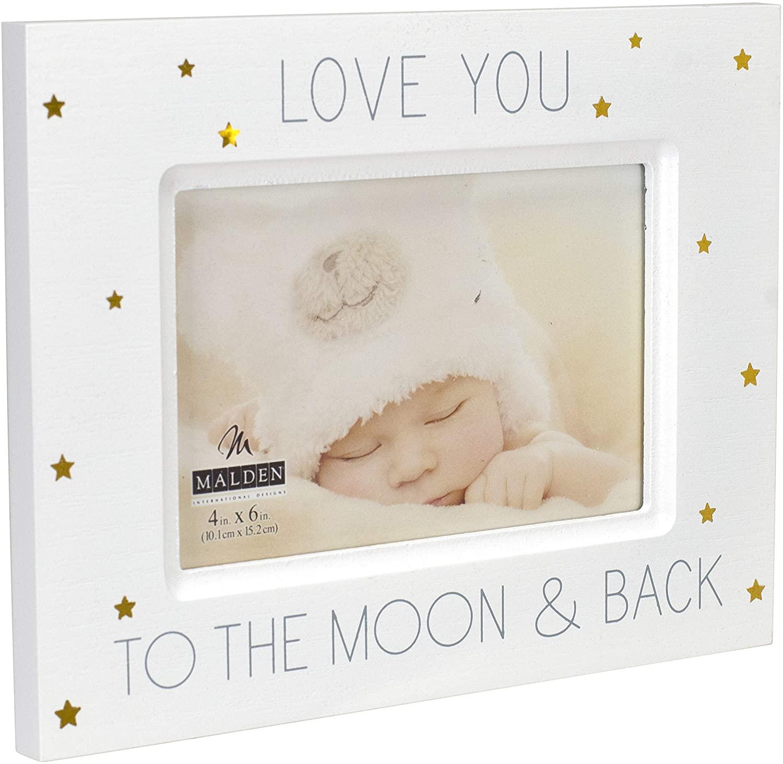 7. Malden International Designs Baby Memories Love
