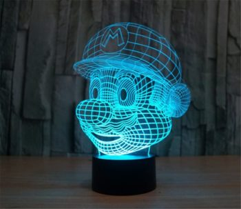 Mario Illusion Lamp