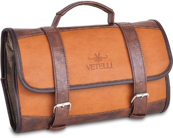Men's Leather Cosmetic Bag