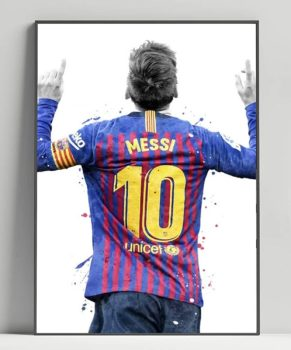 Messi Artwork poster