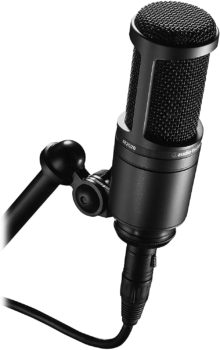 Microphone, black, perfect for home