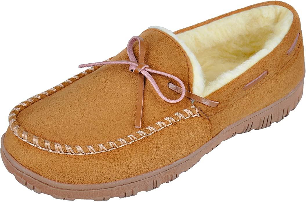 10. Microsuede Slippers