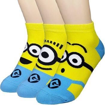 Minions Cotton Blend Socks