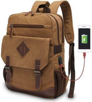 Modoker Men's Vintage Backpack