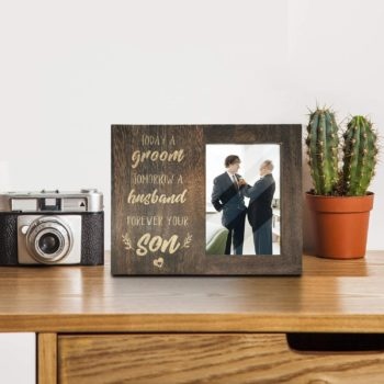 Mom and dad photo frame