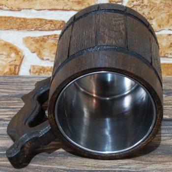 Monster Hunter World Wooden Beer Mug