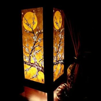 Moon Sakura Table Lamp