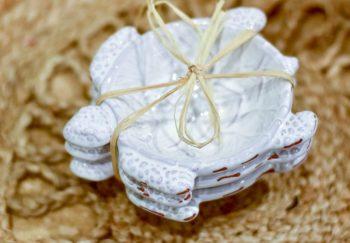 Mud Pie Turtle Shaped Dip Bowls