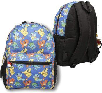 Multi character pokemon backpack