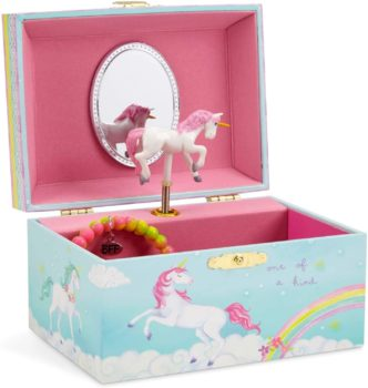 Musical Jewelry Storage Unicorn spinning Box