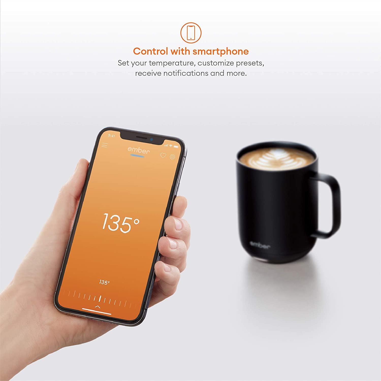 9. NEW Ember Temperature Control Smart Mug