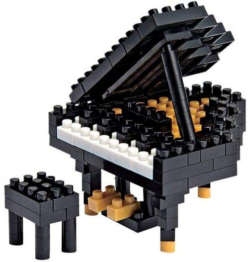 10. Nanoblock Grand Piano