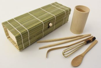 Natural Bamboo Japanese Matcha Tea Set