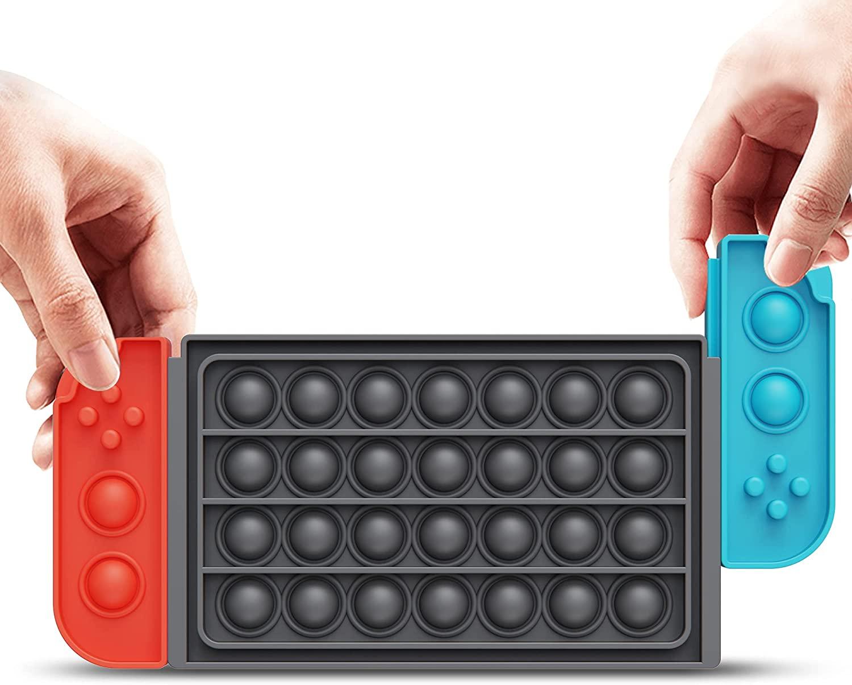 Nintendo Switch-Style Pop Bubble Fidget Toy